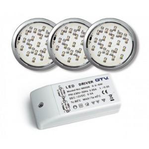 """""""LUGO"""" - комплект круглых LED светильников"""
