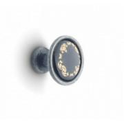 Ручка мебельная DC - ретро - Кнопка K-301 G1