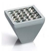 Ручка-кнопка с кристаллами