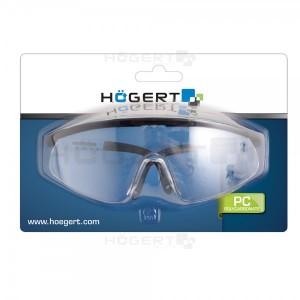 Очки защитные, стекло PC, поликарбонат, с регулировкой заушников
