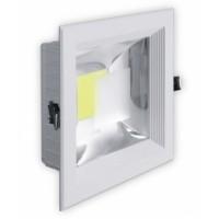 Квадратный LED светильник COB - выбор мощности