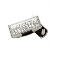 Полка для клавиатуры, с подставкой для мышки